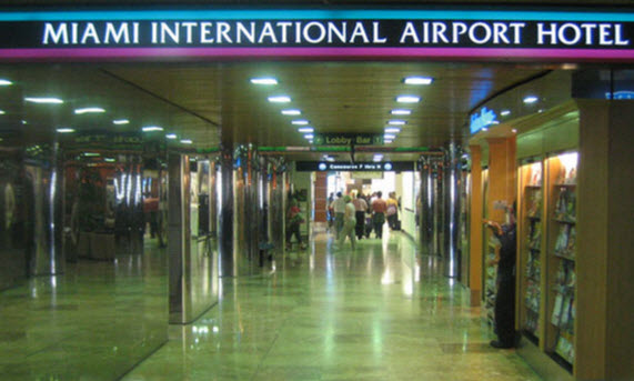 Miami International Airport Hotel Airport Terminal Hotels